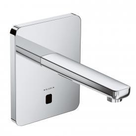 Kludi ZENTA Elektronische Waschtischarmatur, soft-edge Rosette, ohne Temperaturwählgriff Ausladung: 190 mm
