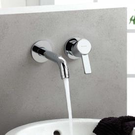 Kludi ZENTA Waschtischarmatur für Wandmontage Ausladung: 230 mm