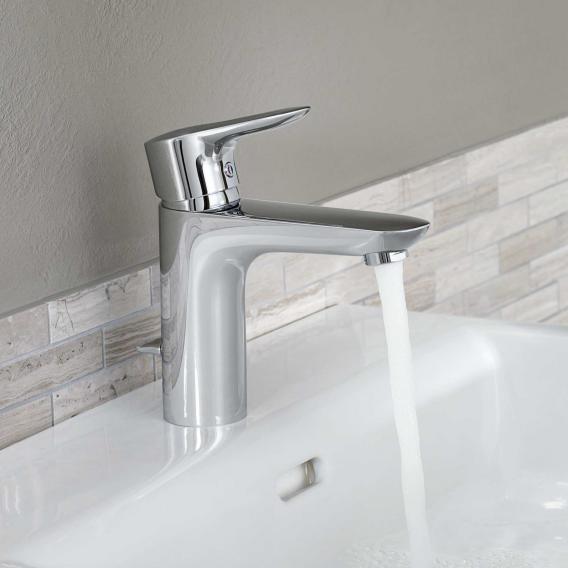 Kludi objekta waschtisch einhandmischer mit ablaufgarnitur for Waschtisch ablaufgarnitur