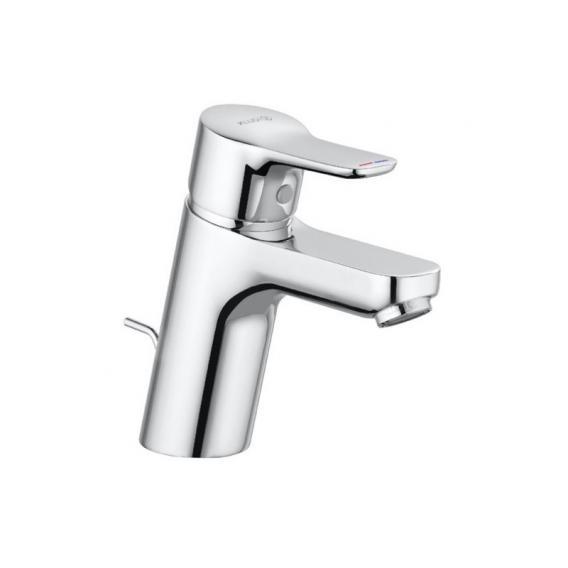 Kludi PURE&EASY Waschtisch-Einhandmischer 70 mit Ablaufgarnitur, chrom