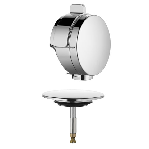 Kludi Rotexa Multi Feinbau-Set für Ab- und Überlaufgarnitur mit Einlauf