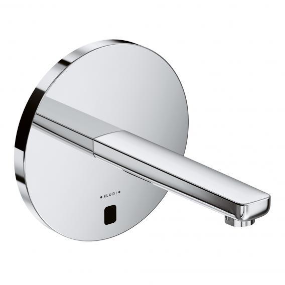 Kludi ZENTA Elektronische Wand-Waschtischarmatur ohne Temperaturregulierung Ausladung: 190 mm