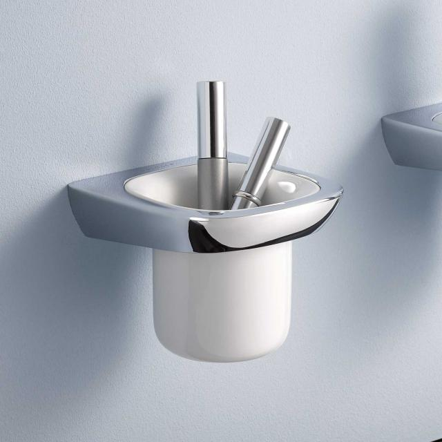 Kludi AMBA Glashalter mit Mundspülglas für Wandmontage