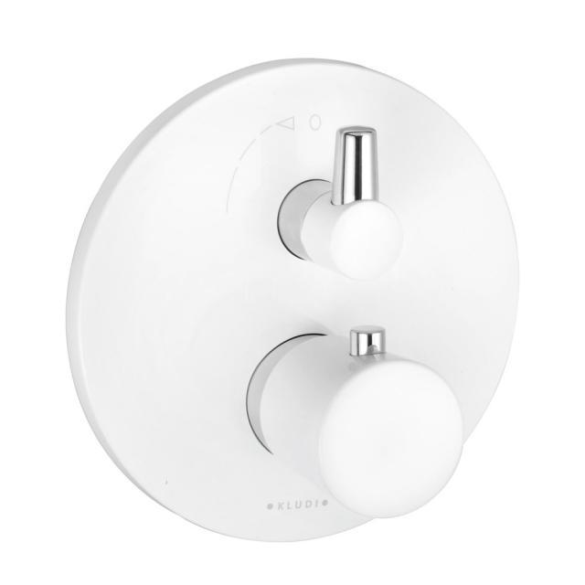Kludi BALANCE Thermostatarmatur Unterputz für 2 Verbraucher chrom/weiß