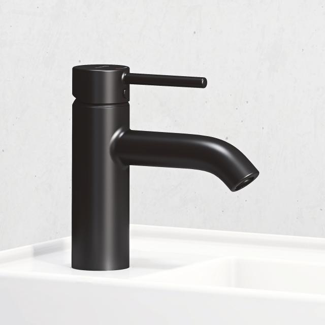 Kludi BOZZ Neu Waschtischarmatur 75 ohne Ablaufgarnitur, schwarz matt