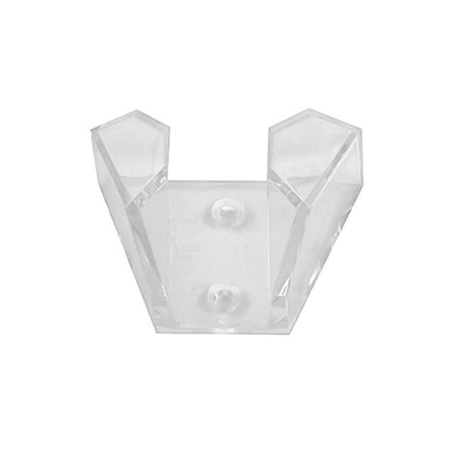 Kludi Tele-Wandhalter transparent
