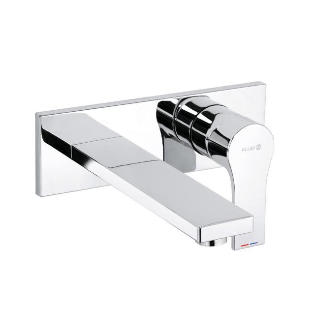 Kludi ZENTA SL Waschtischarmatur für Wandmontage Ausladung 180 mm