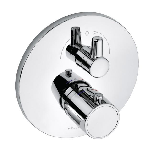 Kludi ZENTA Thermostatarmatur Unterputz für 2 Verbraucher