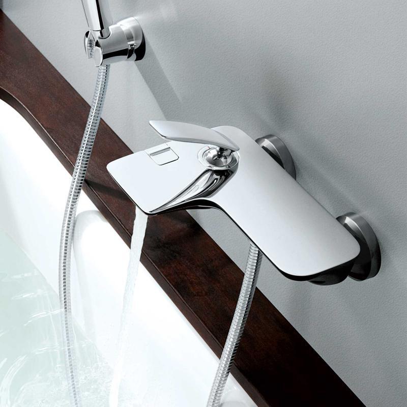 kludi balance wannenf ll und brause einhandmischer dn 15 chrom 524450575 reuter. Black Bedroom Furniture Sets. Home Design Ideas