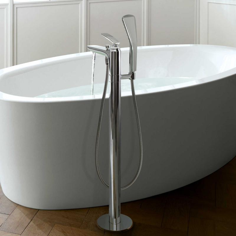 kludi balance wannenf ll und brause einhandmischer dn 15 chrom 525900575 reuter. Black Bedroom Furniture Sets. Home Design Ideas