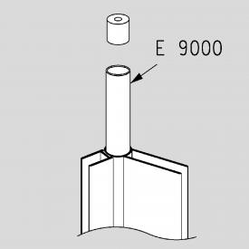 Koralle E2510 / E9000 Teleskopstange mit Rundrohr 140 cm