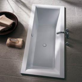 Koralle T700 Rechteck-Badewanne weiß