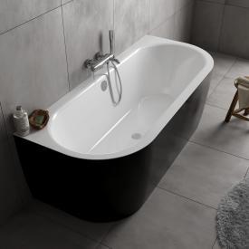 Koralle T700 Vorwand-Badewanne weiß / schwarz