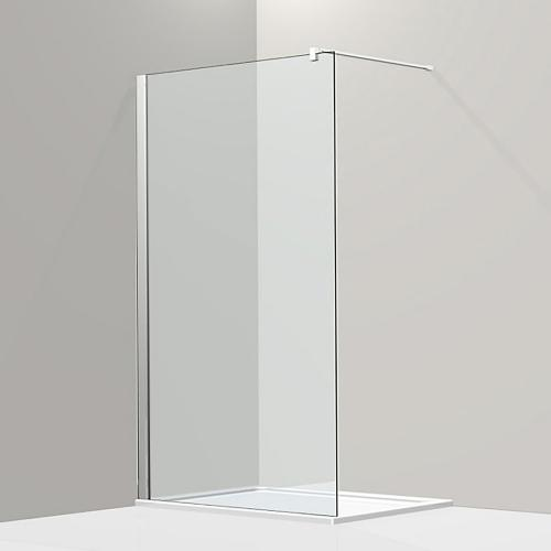Koralle S800 Walk In ESG transparent / silber hochglanz
