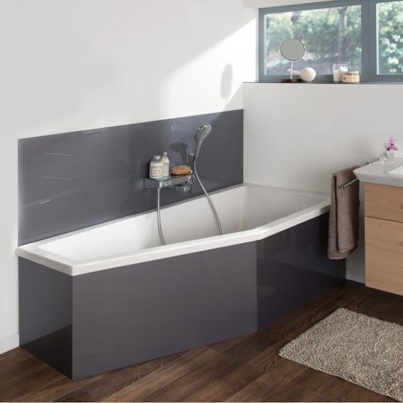 Koralle T200 Raumspar Badewanne weiß