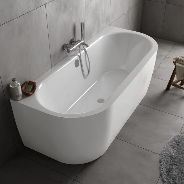 Koralle T700 Vorwand-Badewanne mit Verkleidung weiß / weiß