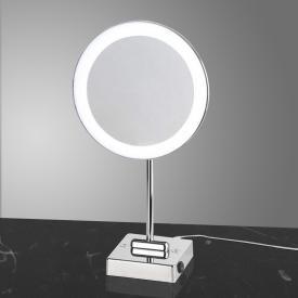 KOH-I-NOOR DISCOLO LED Stand-Kosmetikspiegel, Vergrößerung 2x, mit Stecker