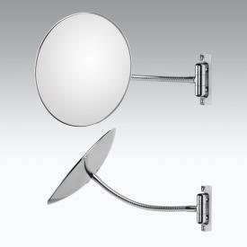 KOH-I-NOOR DISCOLOFLEX Wand-Kosmetikspiegel, A: 310 mm, mit flexiblem Arm, Vergrößerung 2x