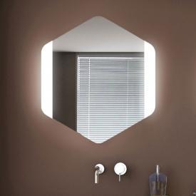 KOH-I-NOOR ESAGONO FRONTALE LED-Spiegel
