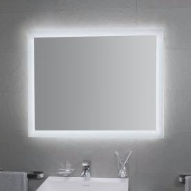 KOH-I-NOOR MATE 4 LED-Spiegel mit Raumbeleuchtung aluminium