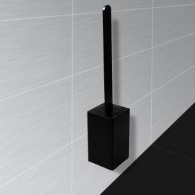 KOH-I-NOOR MATERIA Toilettenbürstengarnitur für Wandmontage schwarz