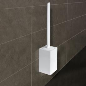 KOH-I-NOOR MATERIA Toilettenbürstengarnitur für Wandmontage weiß