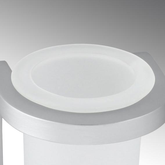 KOH-I-NOOR STICK Wandbecher aluminium gebürstet