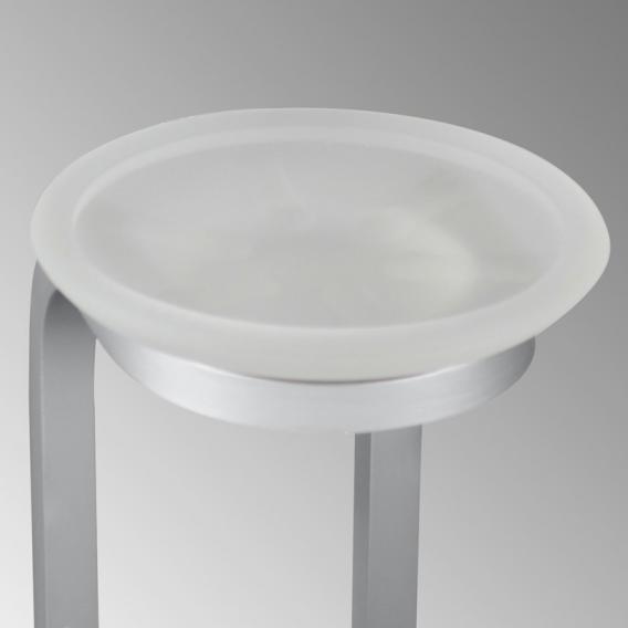KOH-I-NOOR STICK Wandseifenschale aluminium gebürstet