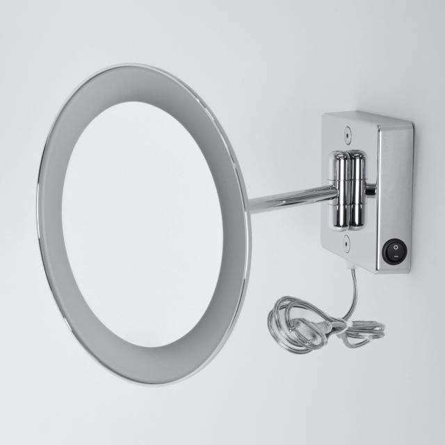 KOH-I-NOOR DISCOLO LED Wand-Kosmetikspiegel, mit Stecker