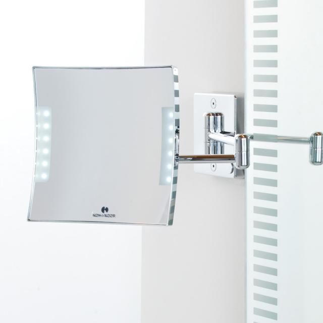 KOH-I-NOOR QUADROLO LED Wand-Kosmetikspiegel