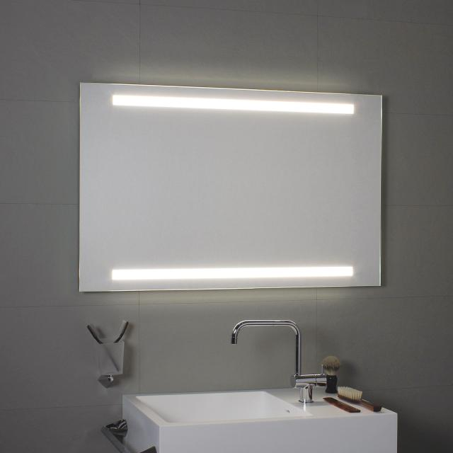 KOH-I-NOOR SUPERIORE E INFERIORE Spiegel mit LED-Beleuchtung