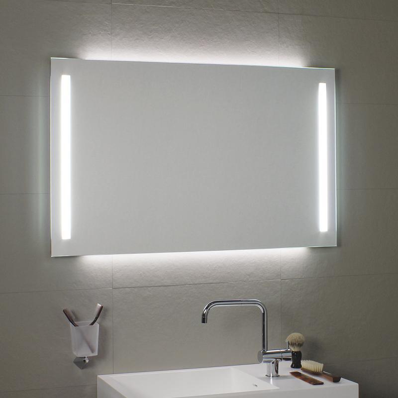 spiegel mit licht bad gl31 hitoiro. Black Bedroom Furniture Sets. Home Design Ideas