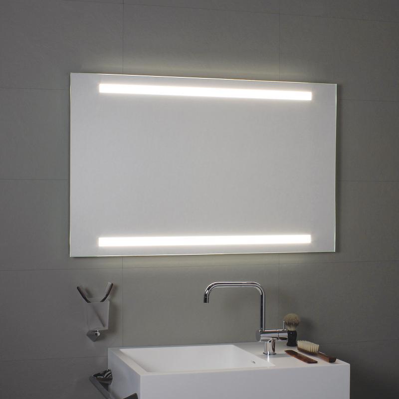 koh i noor led spiegel mit ober und unterbeleuchtung l45933 reuter. Black Bedroom Furniture Sets. Home Design Ideas