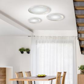 austrolux by KOLARZ Moon LED Deckenleuchte, geriffelt