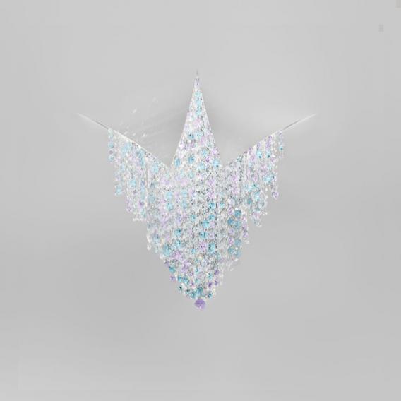 Kolarz Fonte Di Luce LED Deckenaufbauleuchte, klein