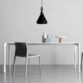 Kristalia Maki Pure-White Esstisch mit 2 Auszügen