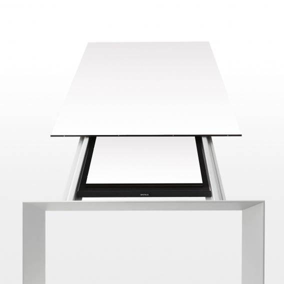Kristalia Nori Alucompact Esstisch mit 2 Auszügen