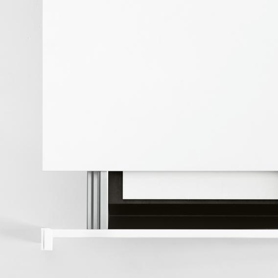 Kristalia Thin-K Aluminium Esstisch mit Auszug