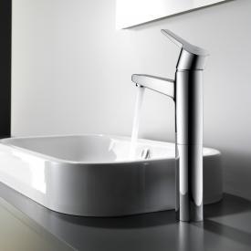 KWC Intro Einhand-Waschtischmischer COOLFIX, hohe Ausführung ohne Ablaufgarnitur