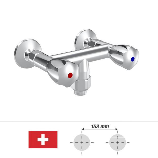 """KWC Gastro Zweigriff-Küchenmischer, für die Schweiz Schlauchanschluss G 3/4"""""""