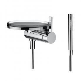 Kartell by Laufen Einhand-Duschenmischer mit Deko-Disc