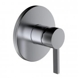 Kartell by Laufen Einhand-Fertigmontage-Set für UP-Duschmischer edelstahl gebürstet