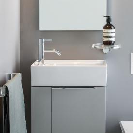 Kartell by Laufen Handwaschbecken weiß, mit 1 Hahnloch