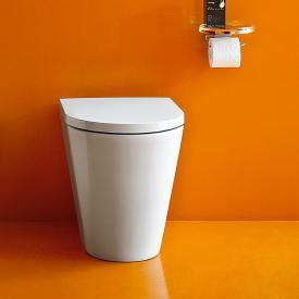Kartell by Laufen Stand-Tiefspül-WC, spülrandlos weiß, mit CleanCoat