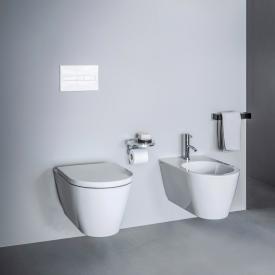 Kartell by Laufen Wand-Tiefspül-WC, spülrandlos weiß, mit Clean Coat