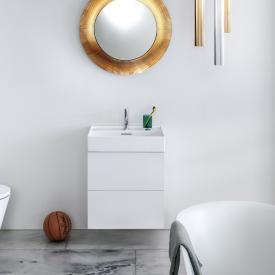 Kartell by Laufen Waschtischunterschrank mit 2 Auszügen Front weiß matt / Korpus weiß matt