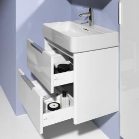 Laufen Base für VAL Waschtischunterschrank mit 2 Auszügen Front weiß matt / Korpus weiß matt