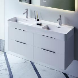 Laufen Base für VAL Waschtischunterschrank mit 4 Schubladen weiß matt