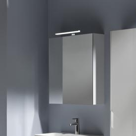 Laufen Base Spiegelschrank mit LED-Beleuchtung weiß matt, Anschlag links