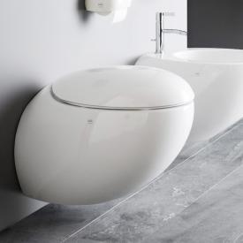 Laufen IL BAGNO ALESSI One Wand-Tiefspül-WC spülrandlos, weiß, mit Clean Coat